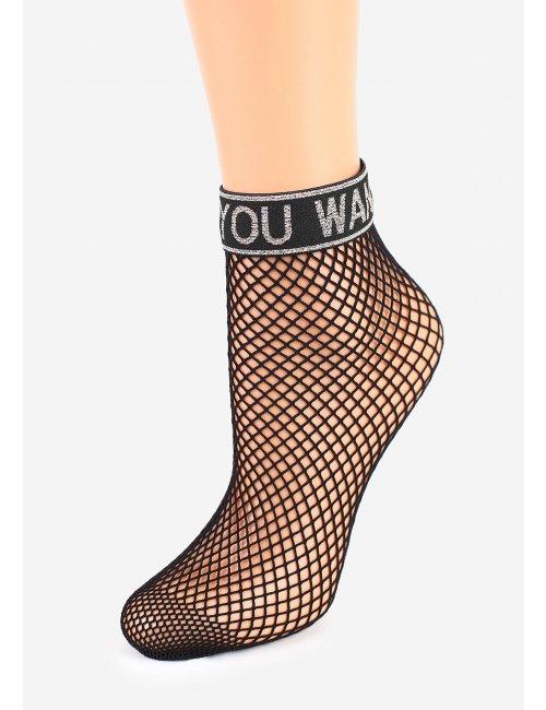 Sieťované ponožky CHARLY S54 Marilyn