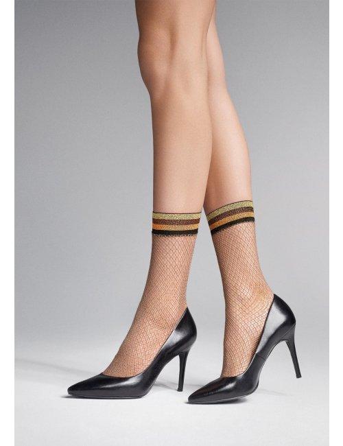 Sieťované ponožky CHARLY S52 Marilyn
