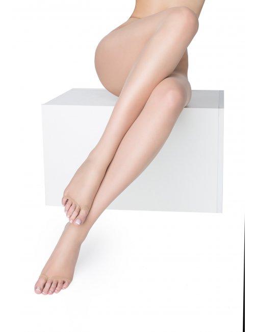 Damen Strumpfhose ohne Zehen NUDO NF 15DEN Marilyn