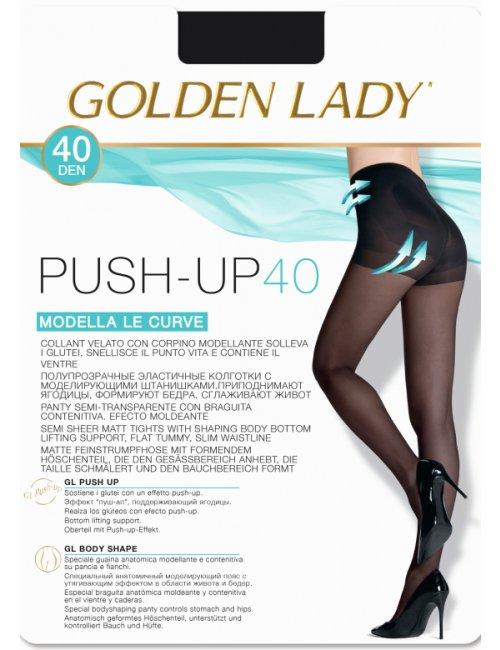 Damen formende Strumpfhose PUSH-UP 40DEN Golden Lady