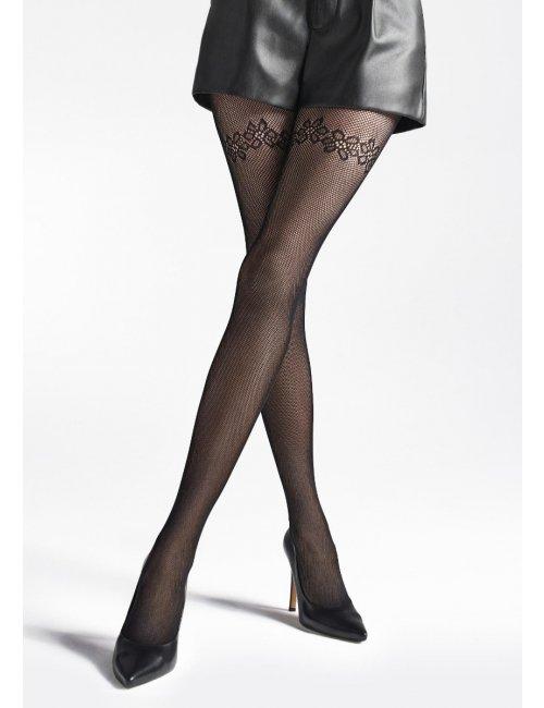 Damen Netzstrumpfhose CHARLY U04 Marilyn