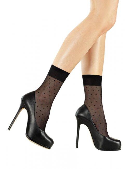 Damen gepunktete Socken FORTE SL716 Marilyn
