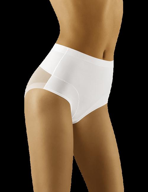 Dámske sťahovacie nohavičky UNIQATA Wolbar - biela